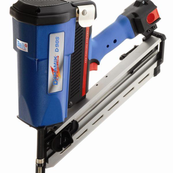 Gaasiga kassettnaelapüstol BeA Dynamik D90S-680E