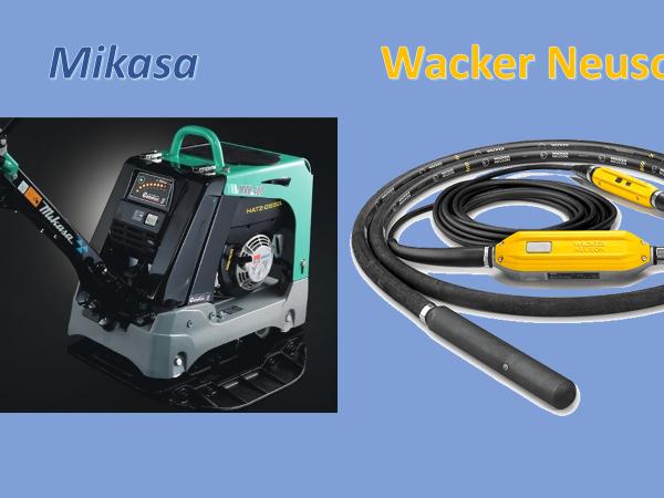 Mikasa ja Wacker Neuson tehnika tutvustus